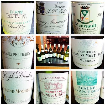 Primeira fotogarfia publicada no artigo Borgonhas Brancos: degustando de Chassagne-Montrachet até Corton-Charlemagne!